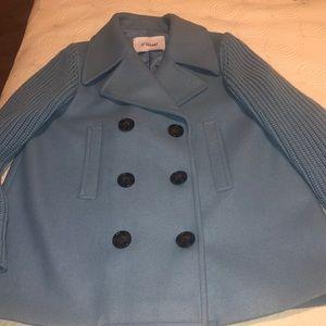 Derek Lam 10 Crosby blue wool coat. Brand new!